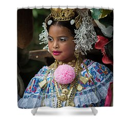 Panamanian Queen Of The Parade Shower Curtain