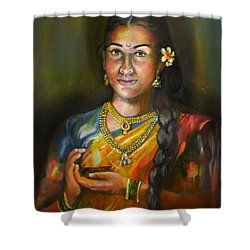 Panchali Shower Curtain