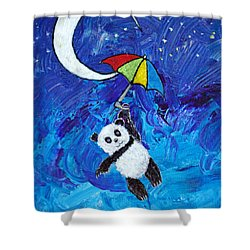 Panda Dreams Shower Curtain