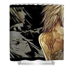 Pandora's Tower Shower Curtain