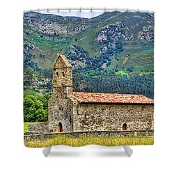 Panes_155a9893 Shower Curtain