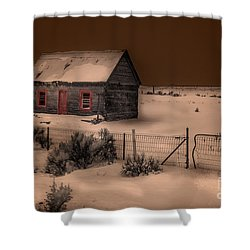 Panguitch Homestead Shower Curtain by William Fields