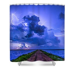 Panhandle Flood Shower Curtain
