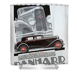 Panhard #8703 Shower Curtain