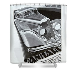 Panhard #8710 Shower Curtain