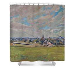 Panorama Maastricht Shower Curtain
