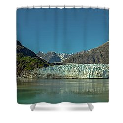 Shower Curtain featuring the photograph Panorama Of Glacier Bay, Alaska by Brenda Jacobs