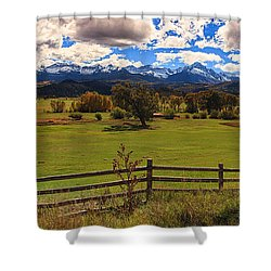 View Of The San Juans Shower Curtain