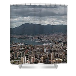 Panorama Palermo Shower Curtain