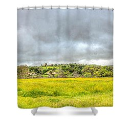 Panorama View Spring Time Shower Curtain
