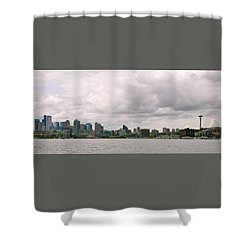 Panoramic Seattle Shower Curtain