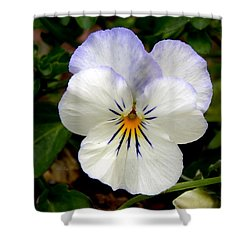 Pansy Face Shower Curtain