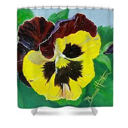 Pansy No. Ten Shower Curtain