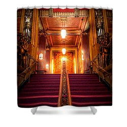 Pantages Theater's Grand Staircase Shower Curtain