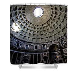 Shower Curtain featuring the photograph Pantheon by Nicklas Gustafsson