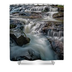 Panther Creek Upper Falls Shower Curtain