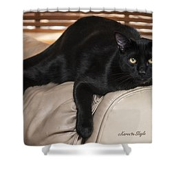 Panther Shower Curtain