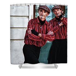 Pantomine Shower Curtain