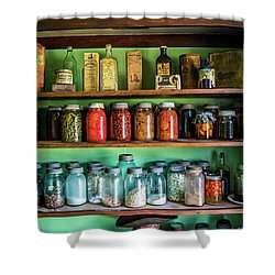 Shower Curtain featuring the photograph Pantry by Paul Freidlund