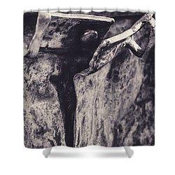 Pants Shower Curtain by Martina Fagan