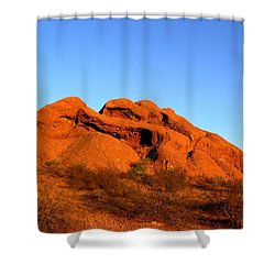 Shower Curtain featuring the photograph Papago Park 2 by Michelle Dallocchio