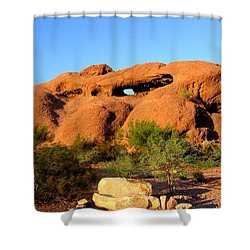 Shower Curtain featuring the photograph Papago Park by Michelle Dallocchio
