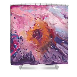 Papa's Passion Shower Curtain