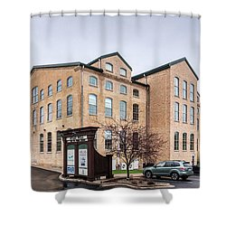 Paper Discovery Center Shower Curtain by Randy Scherkenbach