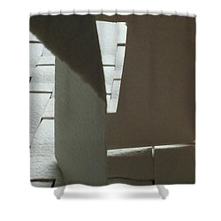 Paper Structure-1 Shower Curtain
