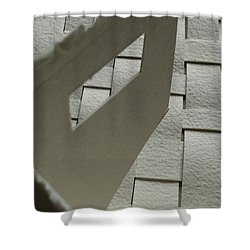 Paper Structure-2 Shower Curtain