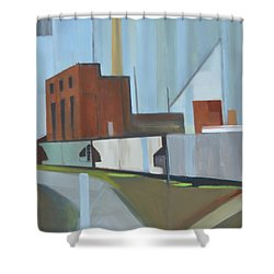 Paperboard Factory Bogota Nj Shower Curtain by Ron Erickson