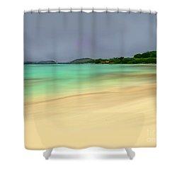 Paradise Shower Curtain by Anthony Fishburne