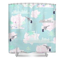 Paradise City Shower Curtain