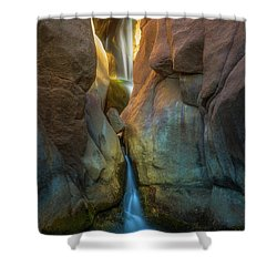 Shower Curtain featuring the photograph Paradise Falls by Darren White