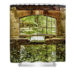 Paradise Forgotten Shower Curtain