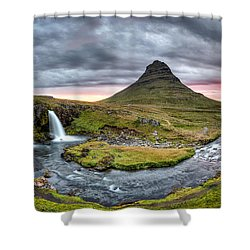 Paradise Found - Panorama Shower Curtain