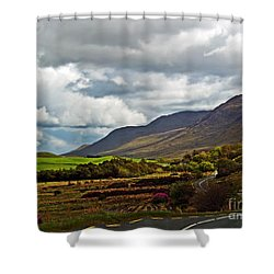 Paradise In Ireland Shower Curtain