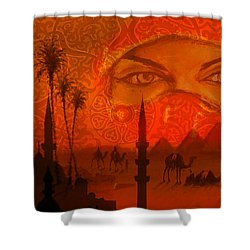 Paradise In Persia Shower Curtain