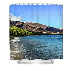 Shower Curtain featuring the photograph Paradise by Joann Copeland-Paul