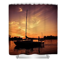 Shower Curtain featuring the photograph Paradise by Joel Witmeyer