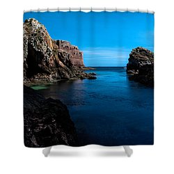Paradise Lost At Sea Shower Curtain