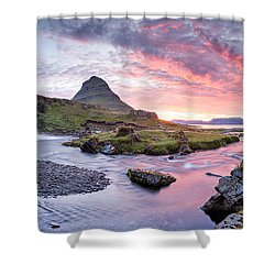Paradise Lost - Large Panorama Shower Curtain