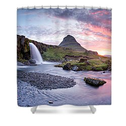Paradise Lost - Panorama Shower Curtain
