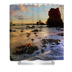 Paradise On Earth Shower Curtain