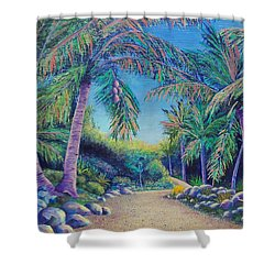 Paradise Shower Curtain by Susan DeLain