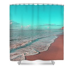 Paradisiac Beaches Shower Curtain