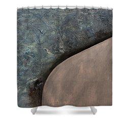 Paragon  Shower Curtain by Antonio Ortiz
