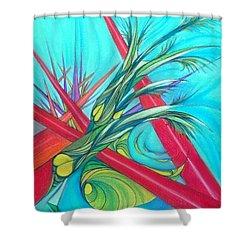 Paralex8 Shower Curtain