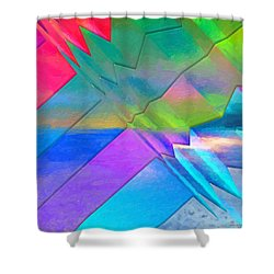 Parallel Dimensions - The Multiverse Shower Curtain by Serge Averbukh