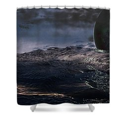 Parallel Universe In Discord Shower Curtain